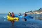 Kayaking in Santa Barbara Channel near Channel Islands National Park and Refugio State Beach.: 1024x679.25333333333